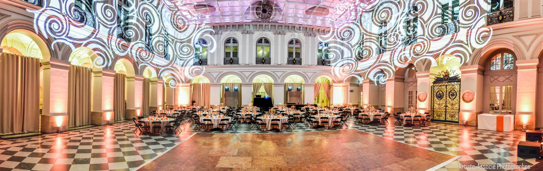 Hall de la Bourse avec piste de danse