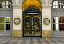 Grille d\'honneur Hall de la Bourse