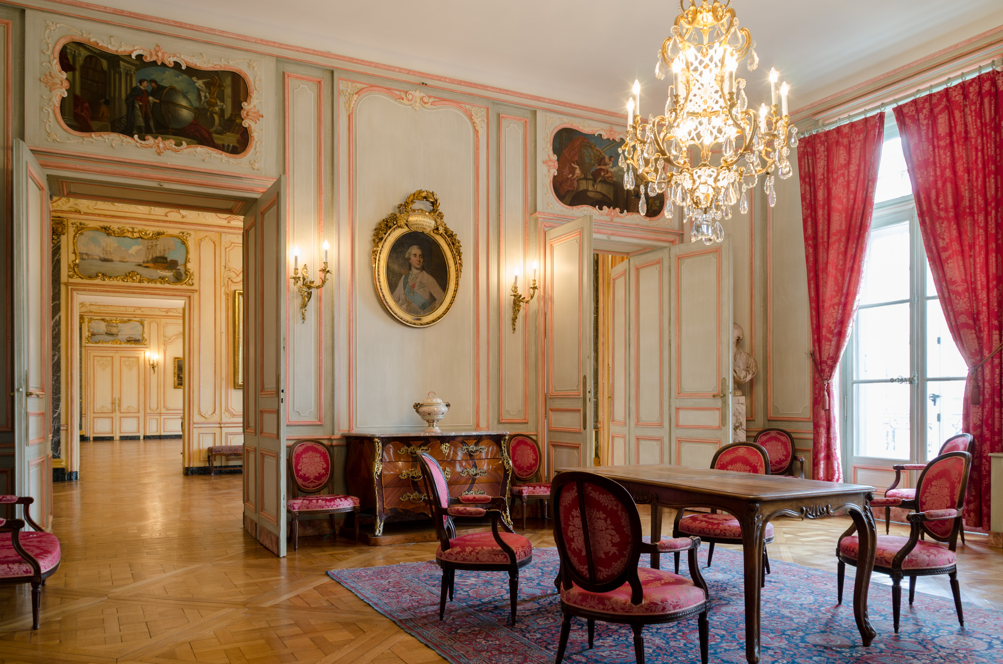 Espace tourny bordeaux palais de la bourse l 39 espace de for Salon 18eme siecle
