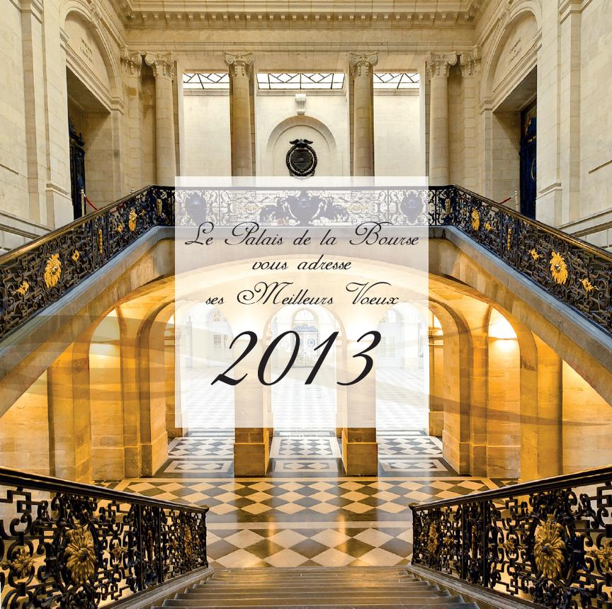 Meilleurs Voeux 2013