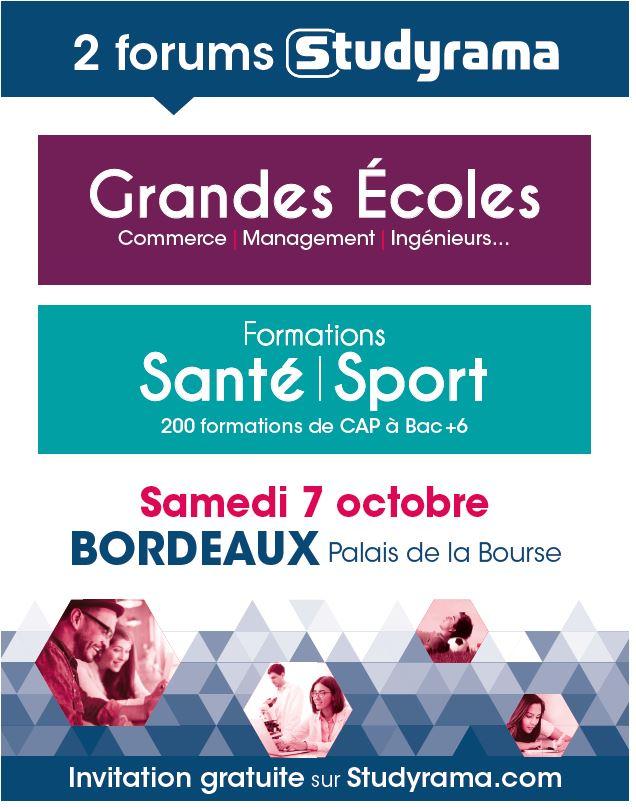 Bordeaux palais de la bourse l 39 espace de r f rence pour for Salon studyrama bordeaux